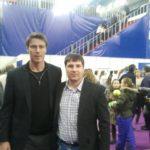 Максим Андрейченко с Маратом Сафиным