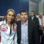 Максим Андрейченко с Еленой Весниной